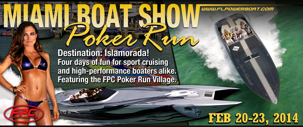 Extreme SuperTruck at Miami Boat Show Poker Run