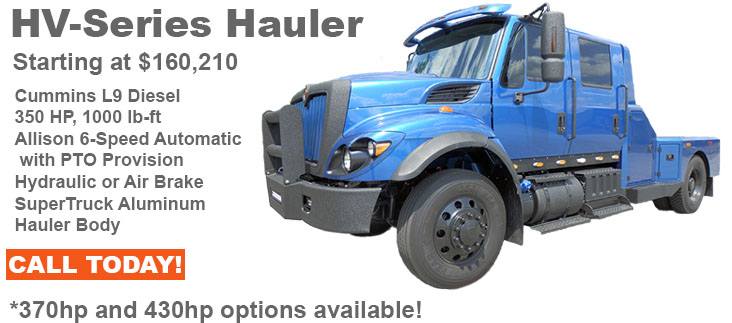 Build your own customized WorkStar Hauler!