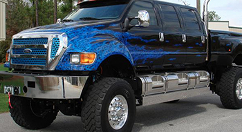 Build It Six Door Extreme Supertruck F650 Supertrucks