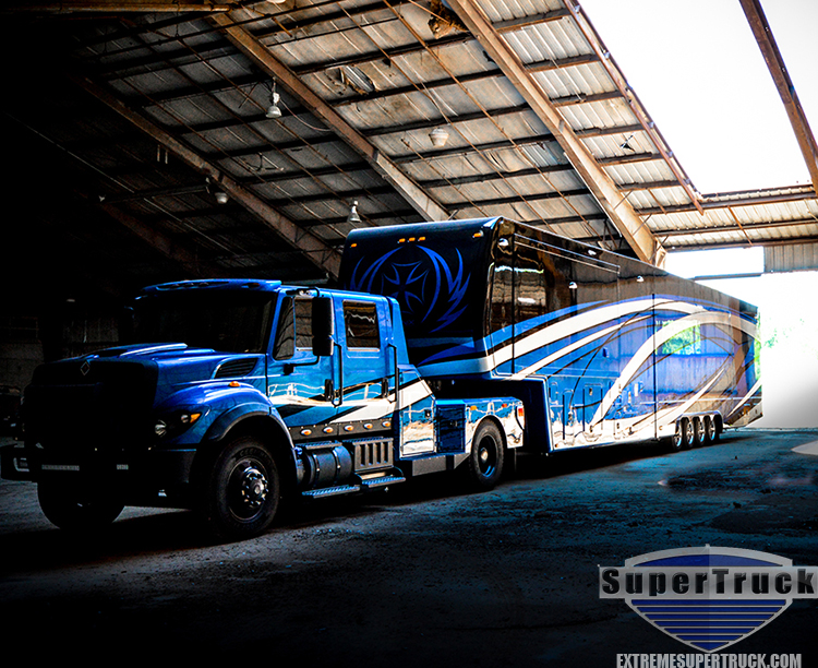 2015 royal blue international f650 supertrucks. Black Bedroom Furniture Sets. Home Design Ideas