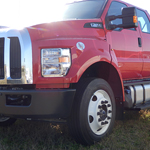 2017 Red F650 Chassis