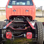 2016 Red F650 Chassis