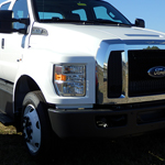 2017 White F650 Chassis