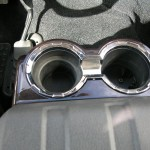 Black F650 Supertruck Interior- Cup Holders