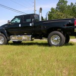 Black Ford F650 Xtreme Exterior- Side