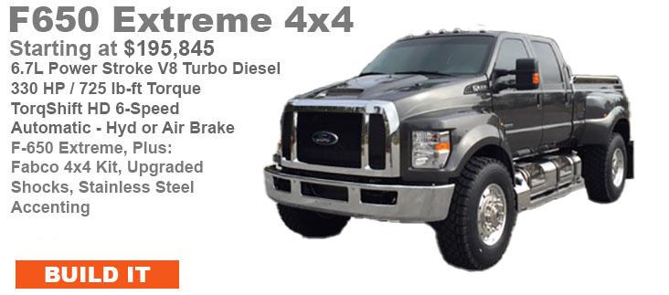 Build A Ford Truck >> Build It F650 Supertrucks