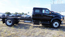 Black 2015 F650 Chassis