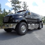 Biggest, baddest Pickup ever built- Black Knight Xtreme Six Door Supertruck