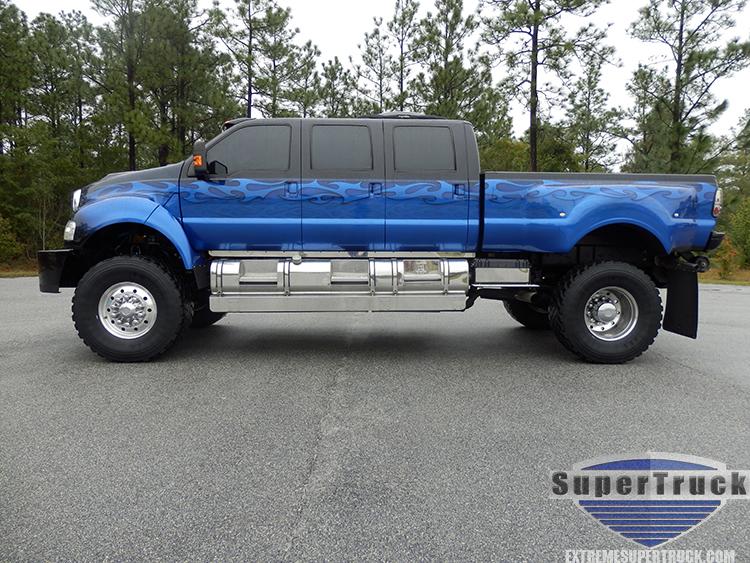 2007 Blue Flame 6 Door F650 Supertrucks