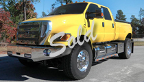 2011 Yellow Extreme Pickup Truck