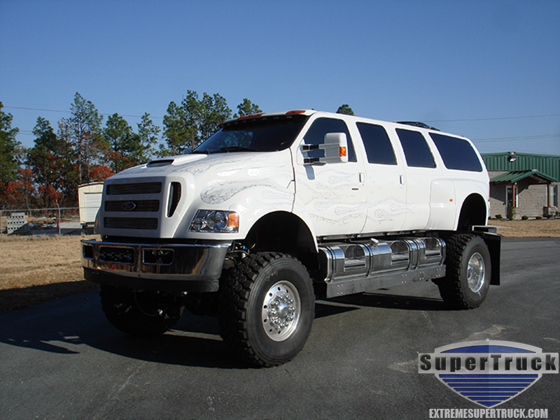White Xuv F650 Supertrucks